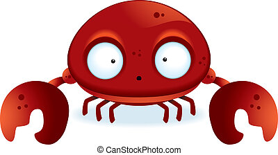 Cartoon Crab - A little cartoon crab with claws.
