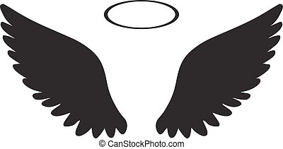 wings halo - wings icon