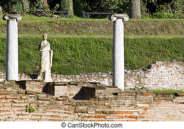 Ancient Dion at Greece - Archaeological site of ancient Dion...