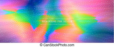 Colourful glitch abstract background - Trend image effect in...