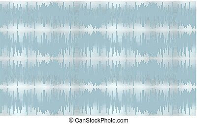 Background with musical scale. - A seamless background with...