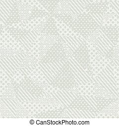 White cloth pattern - White cloth seamless pattern (vector...