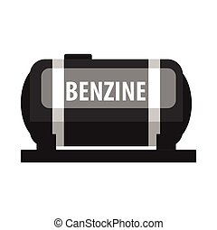 Benzine fuel tank. Production and transportation of oil and...