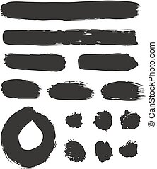 Brush Strokes Set 02 - This image is a illustration and can...