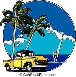Hawaiian Badge