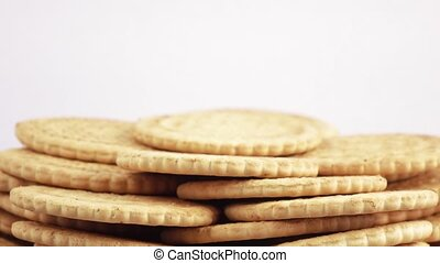 Stack of lean cookies