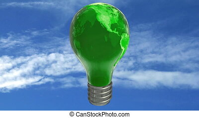 Earth bulb lamp