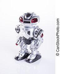 背景, 玩具, 機器人, 或者