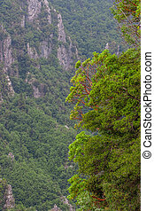 Scenic view from mount Olympus - Beautiful view from Mount...