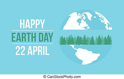 Happy Earth Day celebration collection
