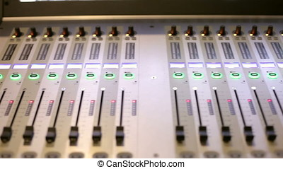 Equipment for audio and sound - Audio sound mixer and...