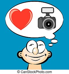 I love photography - emoticon