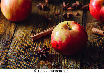 Red Apples with Spices.