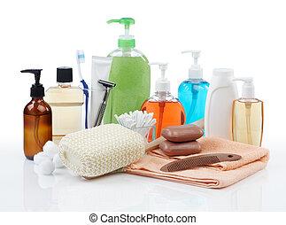pessoal, higiene, produtos