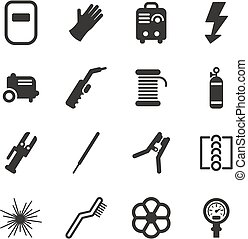 Welding Icons - This image is a illustration and can be...