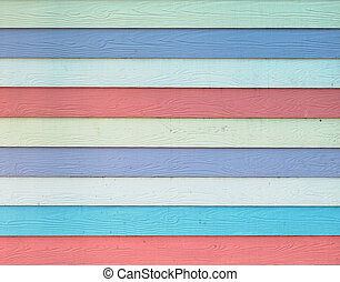 Colorful Wood Pattern, Texture