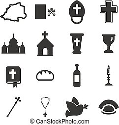 Vatican Icons - This image is a illustration and can be...