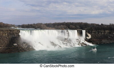 The American Falls on a spring day - American Falls on a...