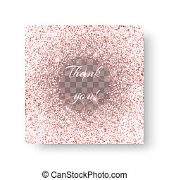 Glitzy pink background - Glitter sparkle background with...