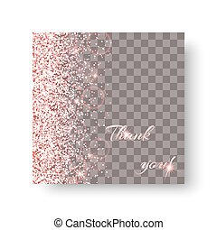 Glow pink background - Glitter sparkle background with light...
