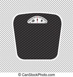 Weight Scale, Vector Illustration