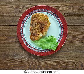 Pariser Schnitzel - Wiener Schnitzel variation from French...