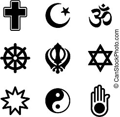 Religion Icons - This image is a illustration and can be...