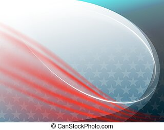 abstract background USA flag