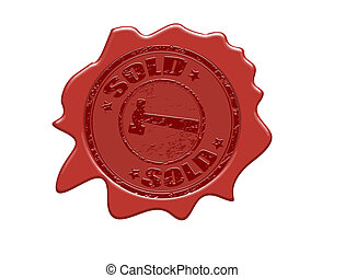 sold wax seal