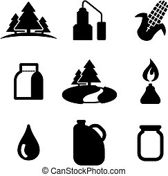 Moonshine Icons - This image is a illustration and can be...