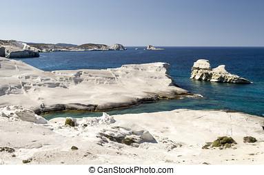 White Beach of Sarakiniko