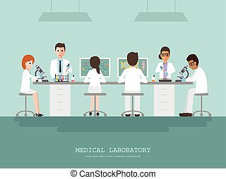Medical science laboratory