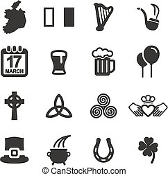 Ireland Icons - This image is a illustration and can be...