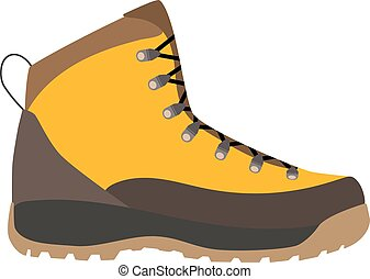 Enduring Leather Boot, Camping And Hiking Outdoor Tourism....