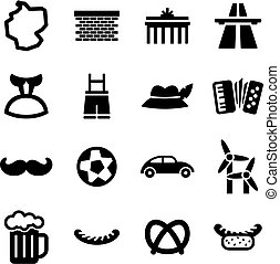 Germany Icons - This image is a illustration and can be...