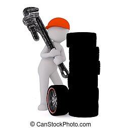 3d man tire repair 12 - 3d man tire repair