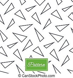 Triangles geometric seamless pattern. - Triangles lines...
