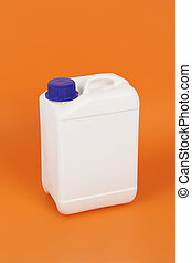 white canister