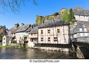 French village Segur-le-Chateau - Little French village...