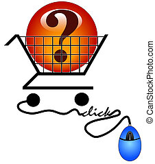 shopping on the internet for information