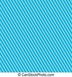 Slanting Strips on Blue Background, Seamless Pattern for...
