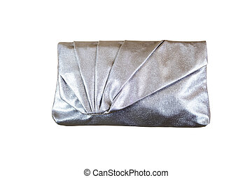 Women silver clutch bag - Beautiful women silver clutch bag...