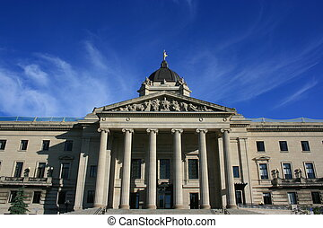 Manitoba\'s Legislature - Manitoba\'s legislature building...