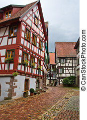 The village of Schiltach in Germany - The village of...