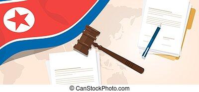 North Korea or Democratic People s Republic of Korea law...