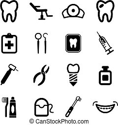 Dentist Icons - This image is a illustration and can be...