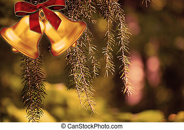 christmas bells - ,ornaments,bells,christmas decoration