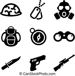 Commandos Icons - This image is a illustration and can be...