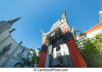 TCL Chinese Theater in Hollywood - Los Angeles, CA, USA -...