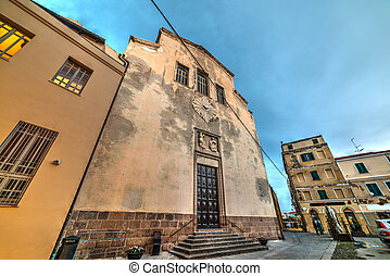 San Michele church in Alghero, Sardinia